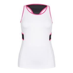 2fa867f183610 SALE Women`s Nalissa Layered Tennis Tank White