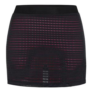 Women`s Zendaya 14.5 Inch Tennis Skort Black and Sweet Pea