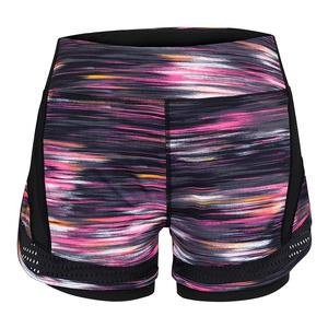 Women`s Esmeralda Tennis Short Brushed Print