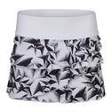 Women`s Tiers Printed Tennis Skort 102_WHITE/FOIL_PRINT