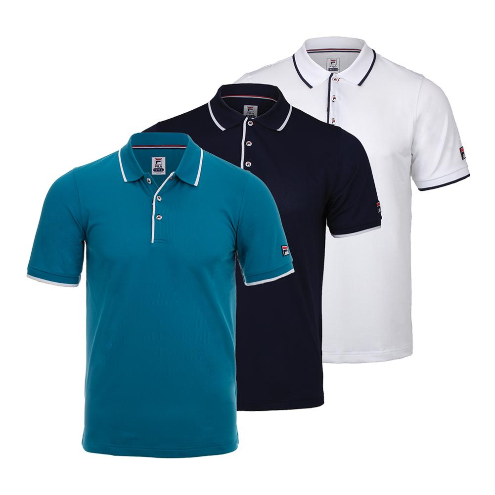 Men's Heritage Mesh Tennis Polo