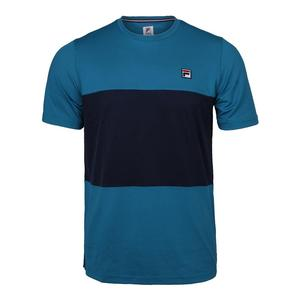Men`s Heritage Colorblocked Tennis Crew