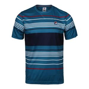 Men`s Heritage Striped Tennis Crew