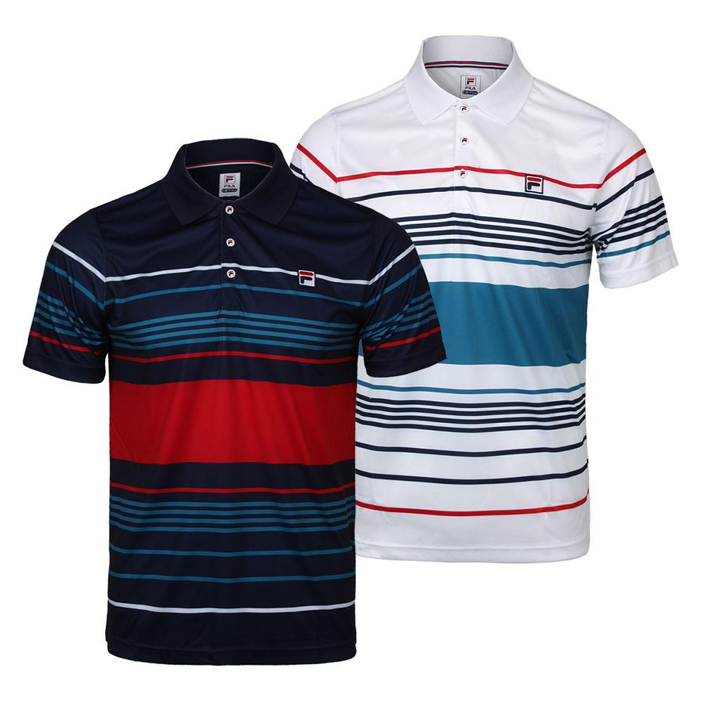 Men's Heritage Striped Tennis Polo