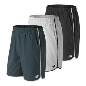 Men`s 9 Inch Tournament Tennis Short Petrol