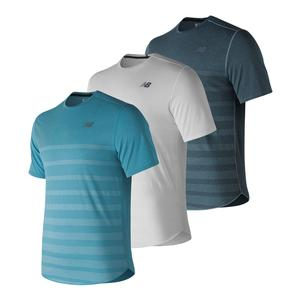 Men`s Q Speed Jacquard Short Sleeve Tennis Top