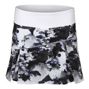 Women`s Topspin Tennis Skort Ultraviolet Water Camo Print