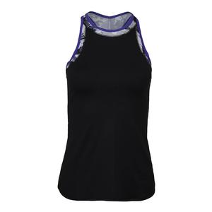 Women`s High Top Tennis Tank Black