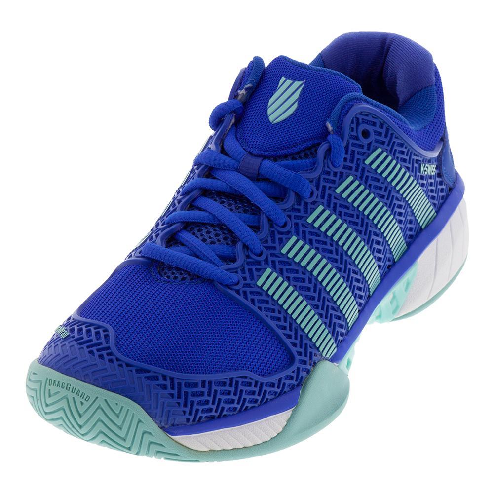 Women's Hypercourt Express Tennis Shoes Dazzling Blue And Aruba Blue
