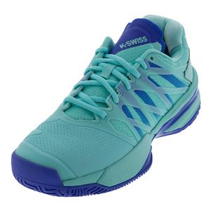 Women`s Ultrashot Tennis Shoes Aruba Blue and Dazzling Blue