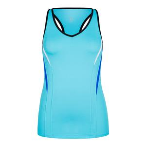 Women`s Deanna Racerback Tennis Tank Bluefish