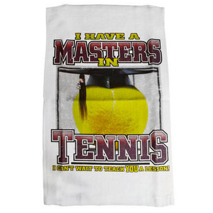 Masters in Tennis Towel
