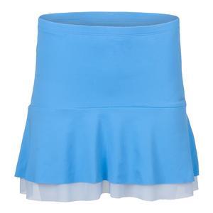 Women`s Breeze Tennis Skort Baby Blue