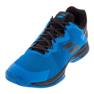 Men`s SFX 3 All Court Tennis Shoes Diva Blue and Black