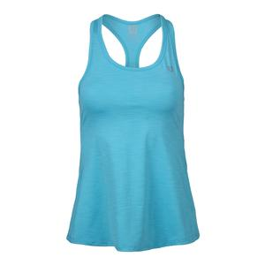 Women`s Race Day Tennis Tank Blue Atoll