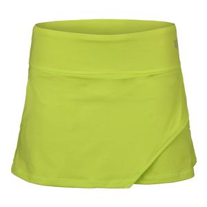Women`s Fly 13 Inch Tennis Skort Lime Popsicle