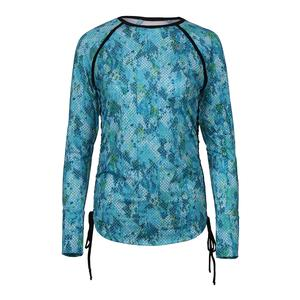 Women`s Tangle Long Sleeve Tennis Top Atlanta Print