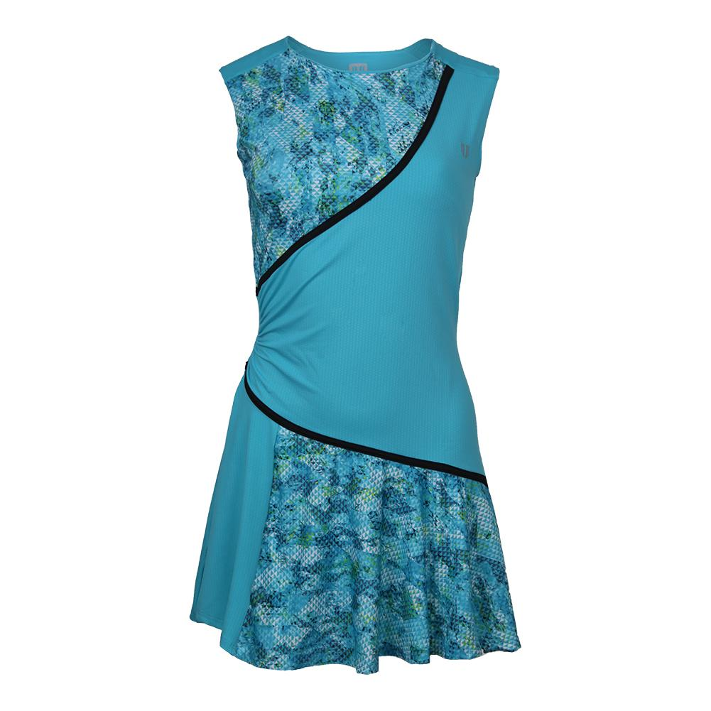 Women's Triad Tennis Dress Atlanta And Blue Atoll