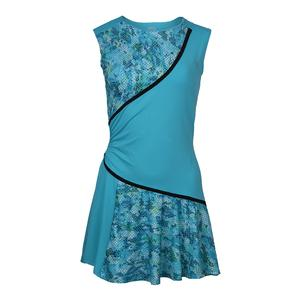 Women`s Triad Tennis Dress Atlanta and Blue Atoll