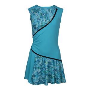 Women`s Triad Tennis Dress Atlanta and Blue Atoll