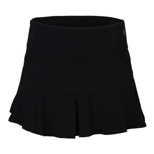 Women`s Jammin 13 Inch Tennis Skirt Black