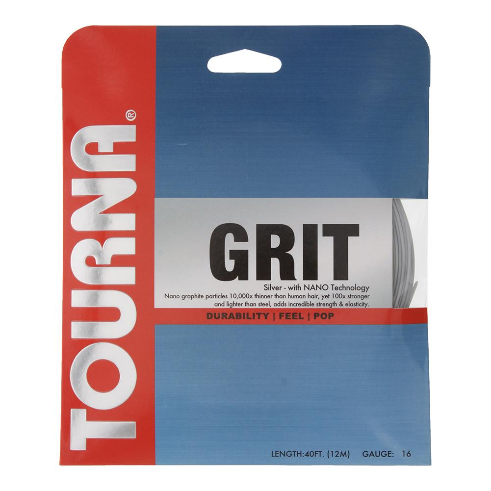 Grit Tennis String Silver