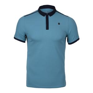 MENS NIKELAB X RF PERFORMANCE POLO BL GY