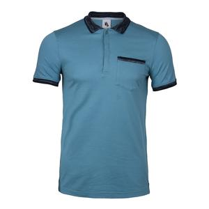 Men`s Nikelab X RF Knit Tennis Polo Blue Gray