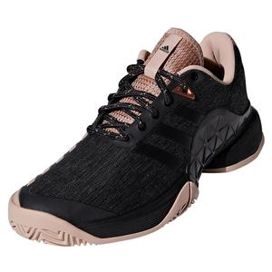 check out 02dd0 d9248 NEW Women`s Barricade 2018 LTD Tennis Shoes Ash Pearl and Black Adidas ...