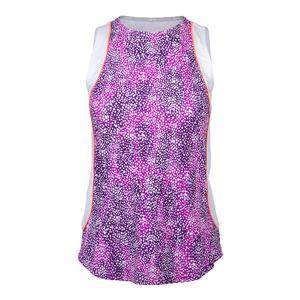 Women`s Ace Tennis Tank Speckle Print
