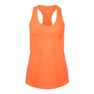 Women`s Topspin Tennis Tank Flamingo