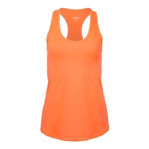 Women`s Topspin Tennis Tank Flamingo