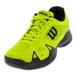 Juniors` Rush Pro 2.5 Tennis Shoes Acid Lime and Black