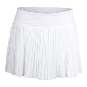 Women`s Heritage Pleated 13.5 Inch Tennis Skort White