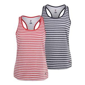 Women`s Heritage Sparkle Stripe Tennis Tank