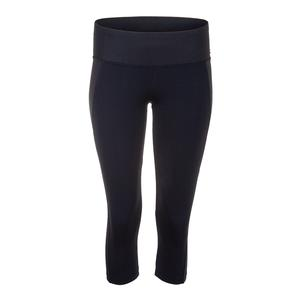 Women`s Charisma Tennis Capri Black
