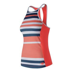 Women`s Printed Rally Tennis Tank Dragonfly