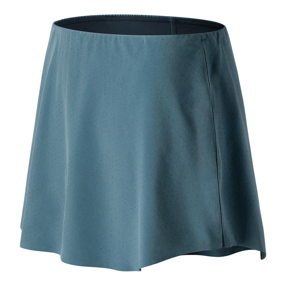 Women's Tournament Court Tennis Skort Light Petrol