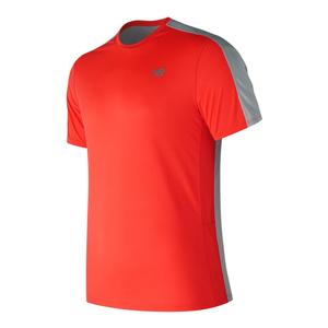 Men`s Accelerate Short Sleeve Tennis Top