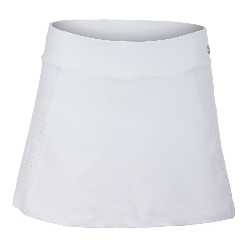 Women's Fate Tennis Skort White