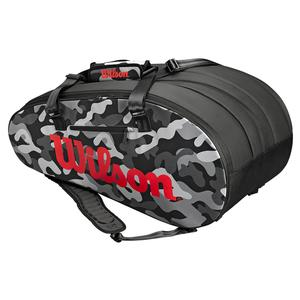 Super Tour 3 Compartment Camo Tennis Bag