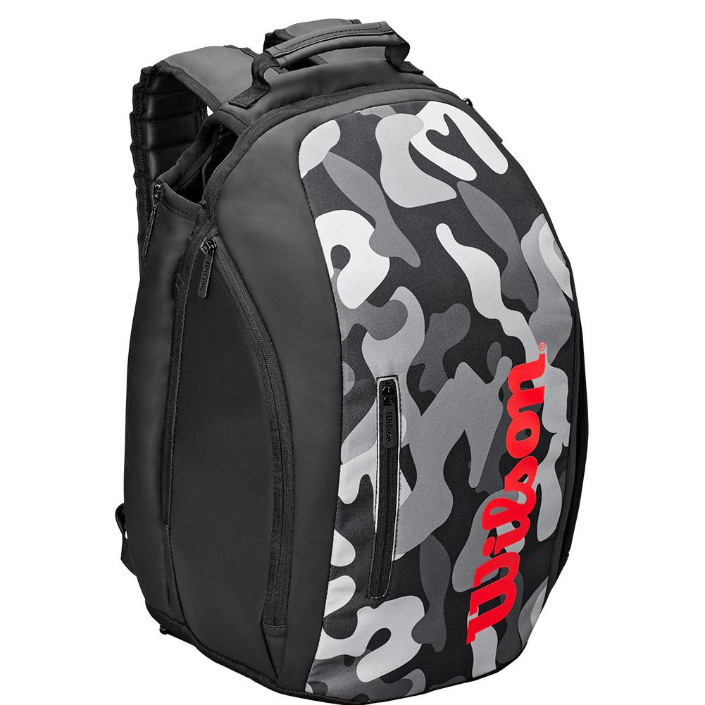Tennis Backpack Gray Camo And Infrared