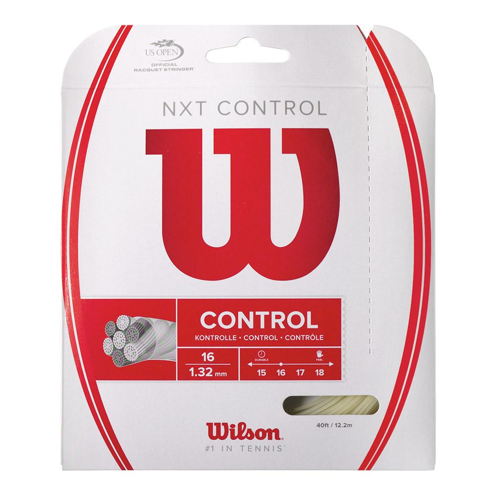 Nxt Control 16g Tennis String Natural