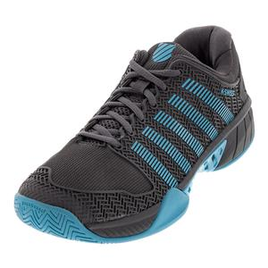 Men`s Hypercourt Express Tennis Shoes Magnet and Malibu Blue