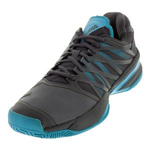 Men`s Ultrashot Tennis Shoes Magnet and Malibu Blue
