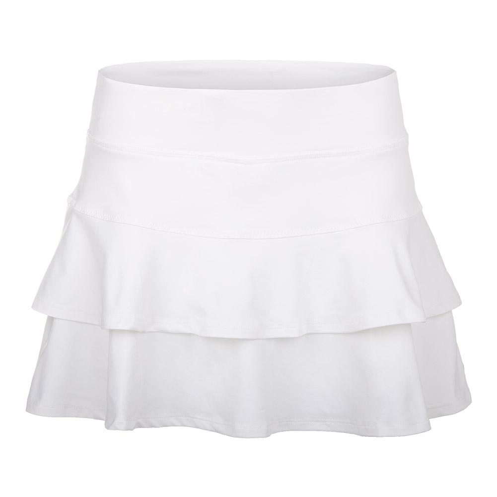 Women's Match 13 Inch Tennis Skort White