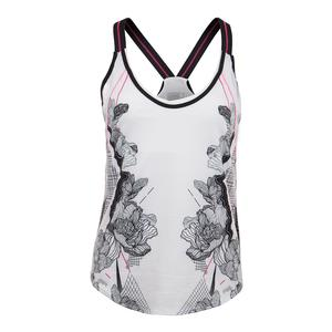 Women`s Off the Charts Bralette Tennis Tank Print