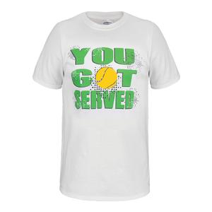 You Got Served Unisex Tennis Tee White