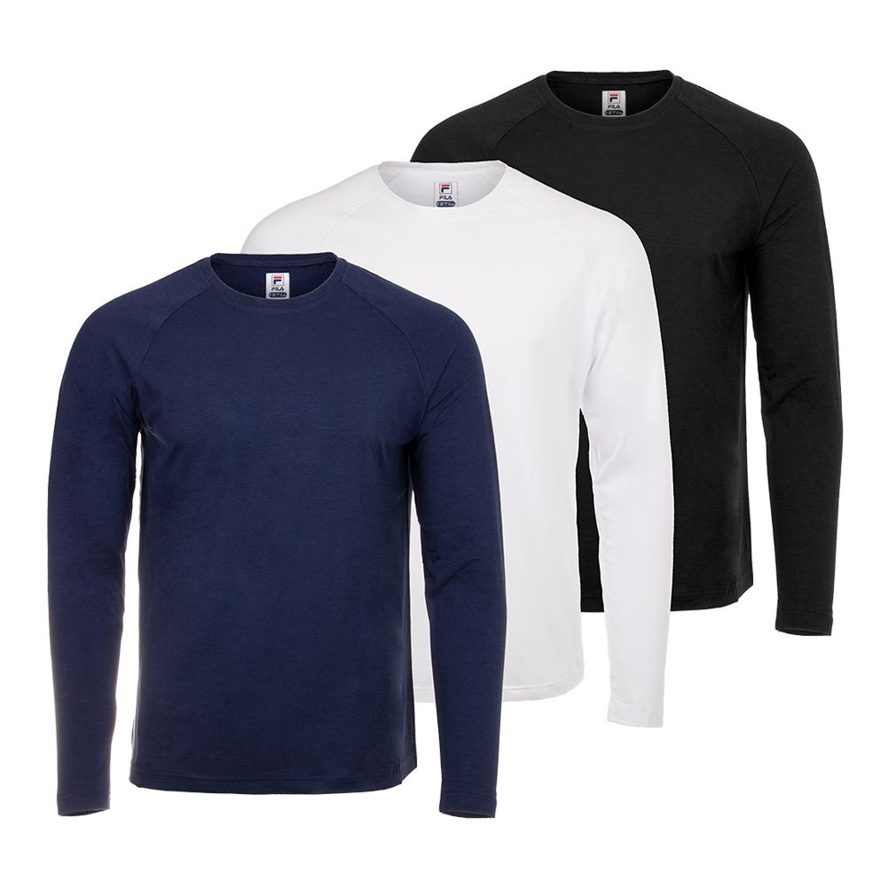 Men's Fundamental Uv Blocker Long Sleeve Tennis Top