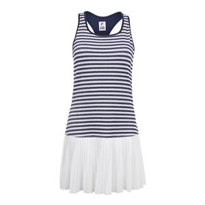 Women`s Heritage Sparkle Tennis Dress Navy and White
